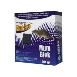 Ratka - Rat-Ka Fare Zehiri Mum Blok 100 Gr