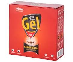 Chrysamed - Fibron Hamam Böceği Kalorifer Böceği Jel İlacı 35 Gr